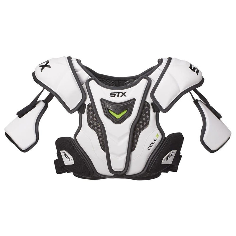 STX Cell 4 Lacrosse Shoulder Pads | Top String Lacrosse