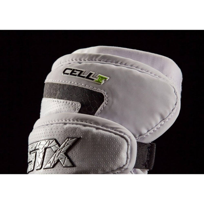 STX Cell V Lacrosse Elbow Pads - Top String Lacrosse
