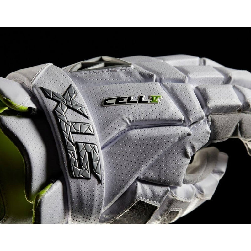 STX Cell V Lacrosse Gloves - Top String Lacrosse