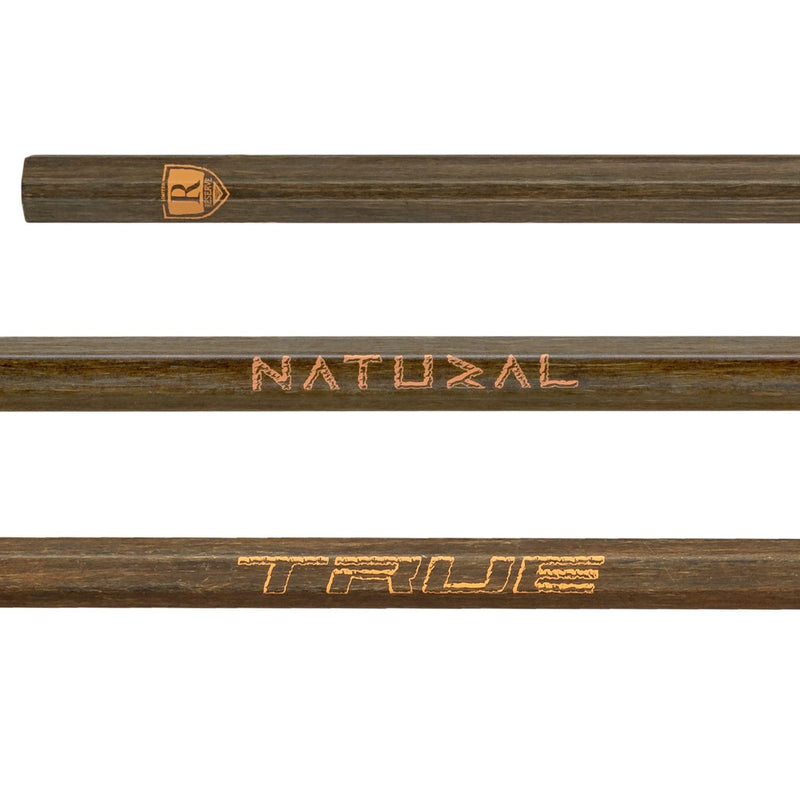 TRUE Natural LIMITED EDITION Composite Men's Attack Lacrosse Shaft - Top String Lacrosse