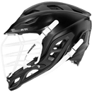 Warrior Burn Lacrosse Helmet - Black | Top String Lacrosse