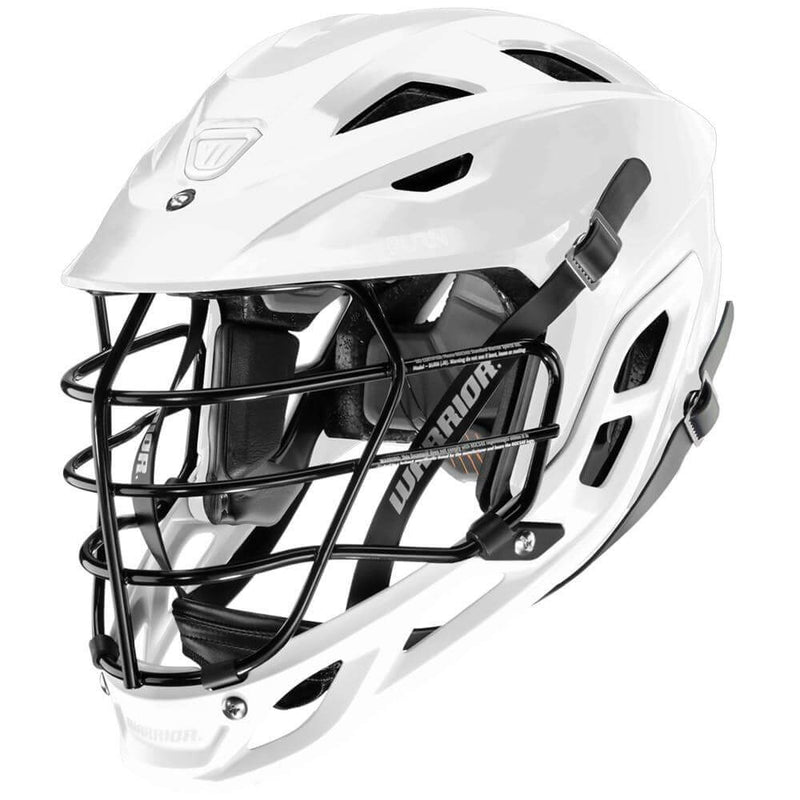 Warrior Burn Lacrosse Helmet - White | Top String Lacrosse
