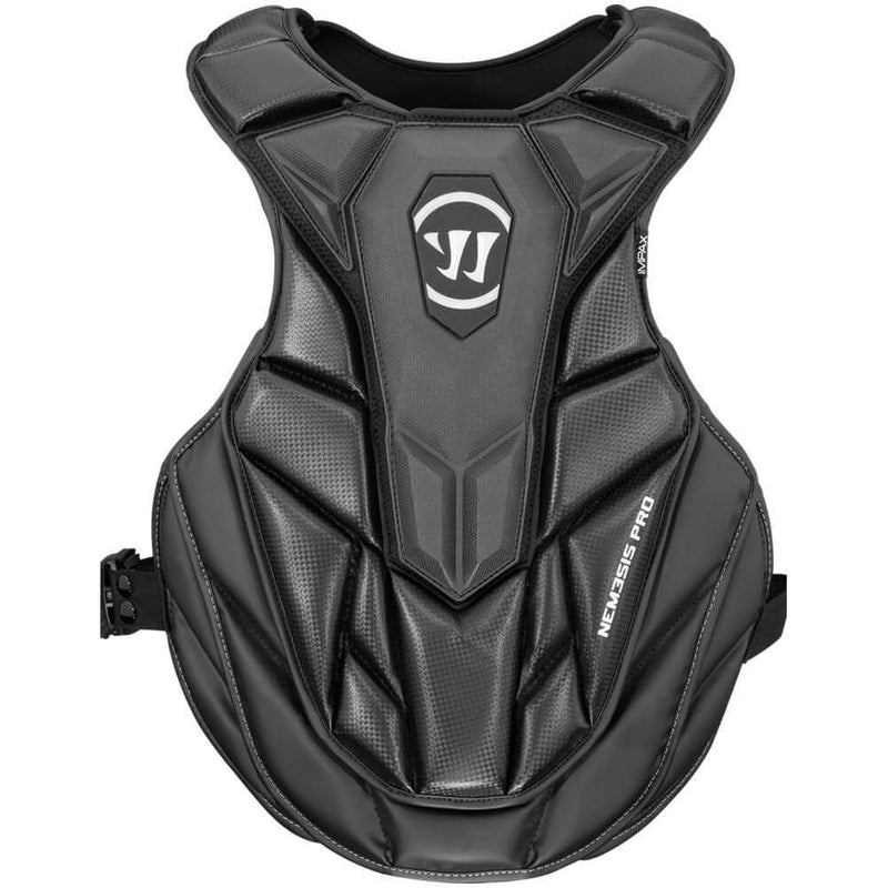 Warrior Nemesis Pro Lacrosse Goalie Chest Pad | Top String Lacrosse