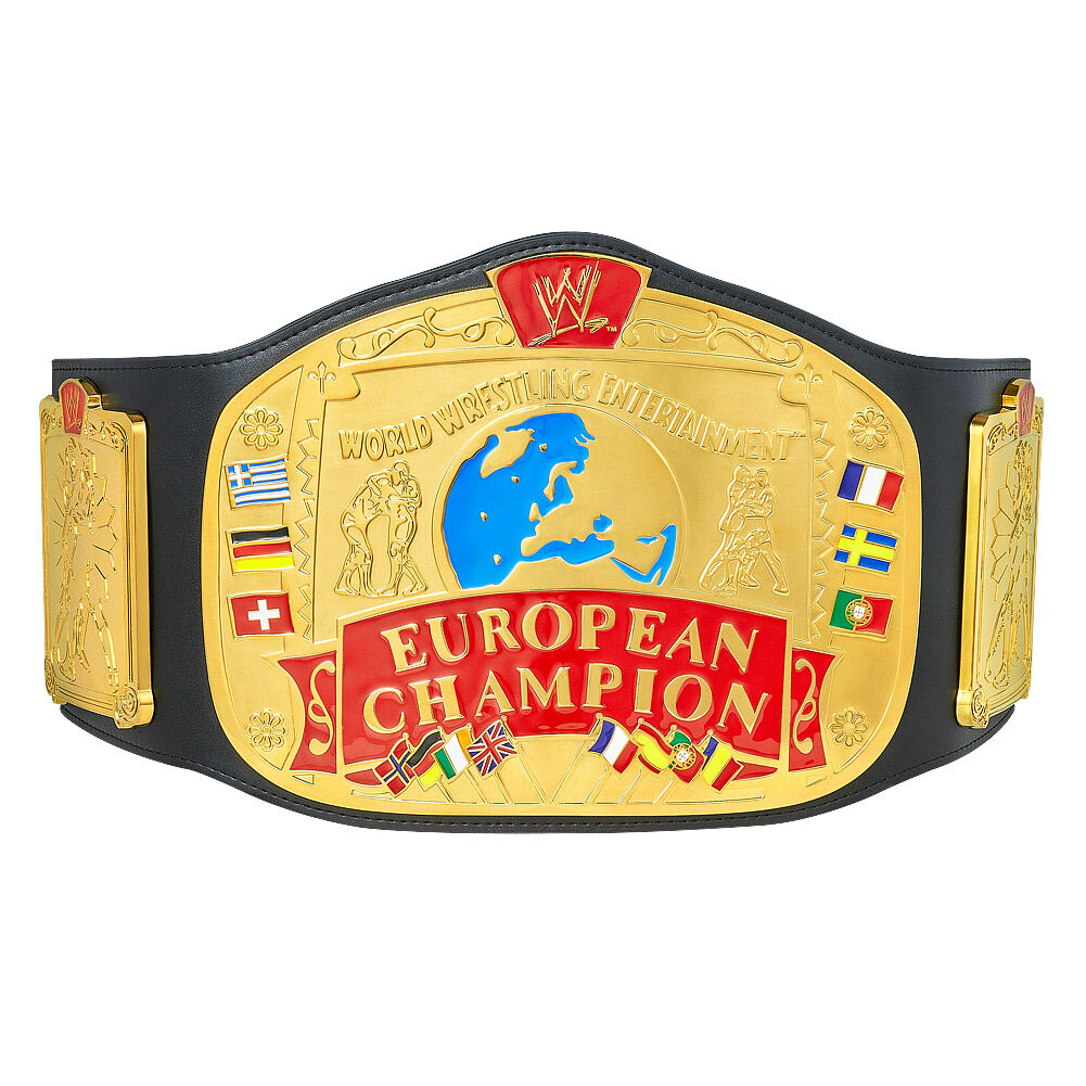 WWE European Championship Replica Title
