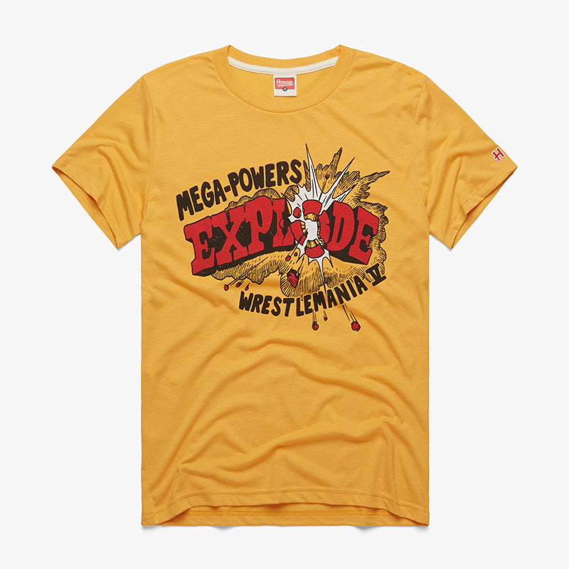 "WrestleMania V ""Mega Powers Explode"" Homage T-Shirt"