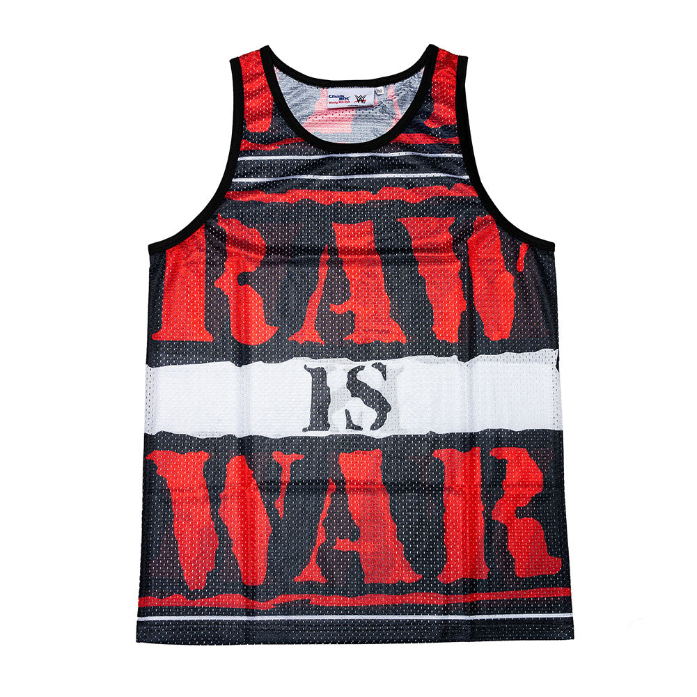 RAW IS WAR Chalk Line Tank Top