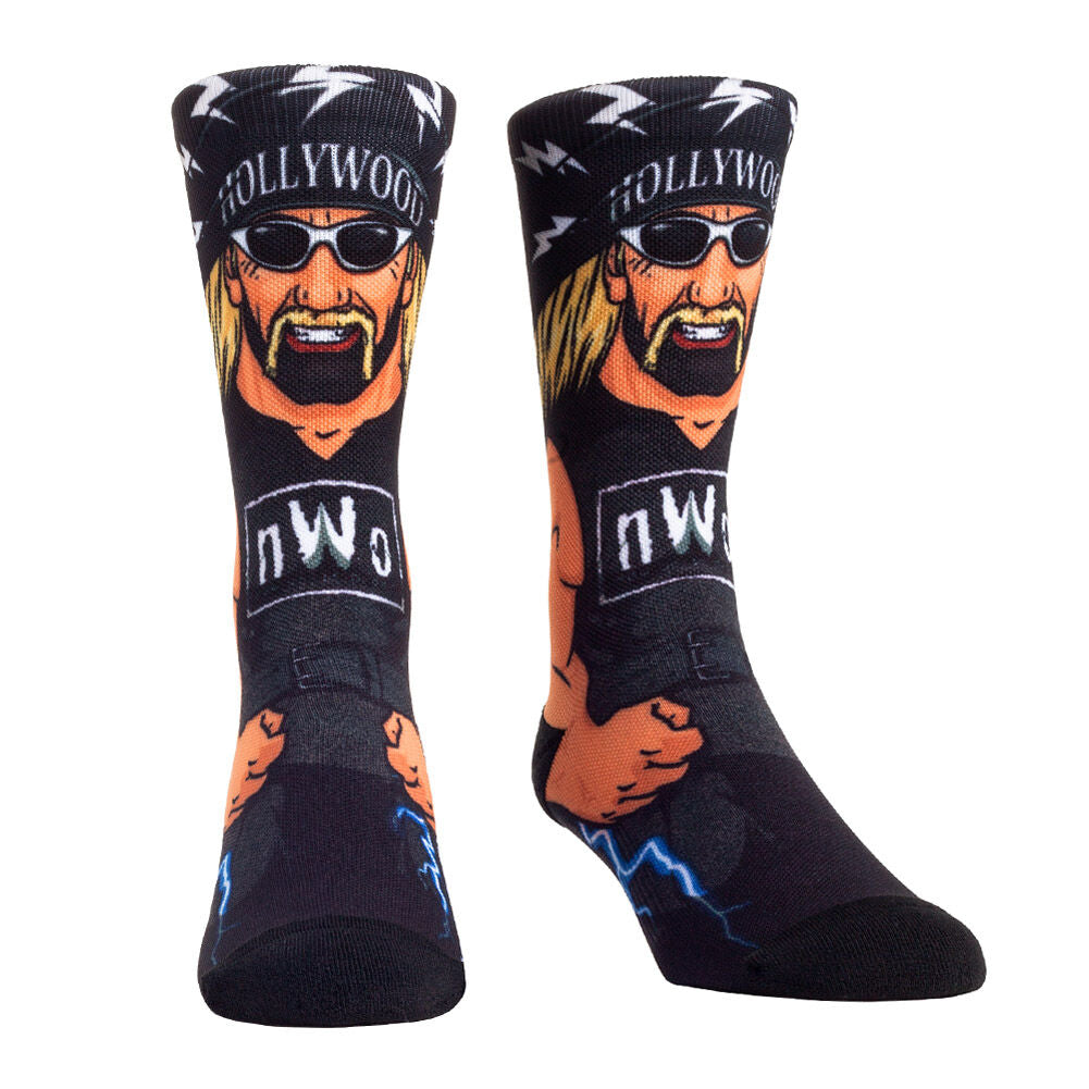 """Hollywood"" Hulk Hogan Rock 'Em Socks"
