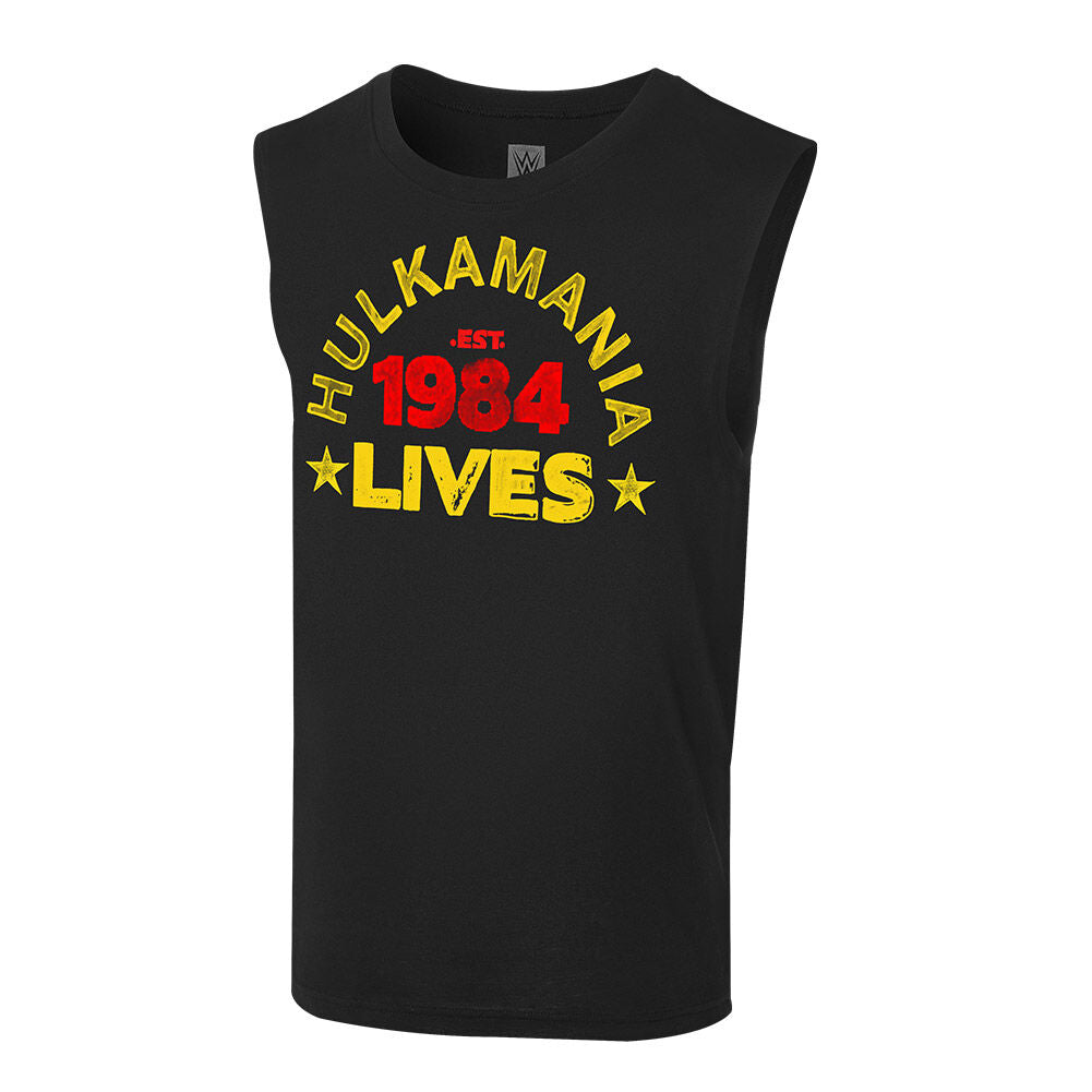 "Hulk Hogan ""Hulkamania Lives Forever"" Muscle T-Shirt"