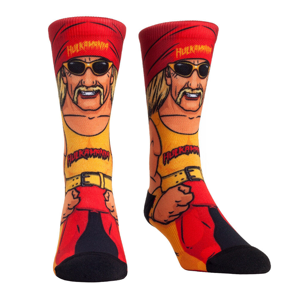 Hulk Hogan Superstar Rock 'Em Socks