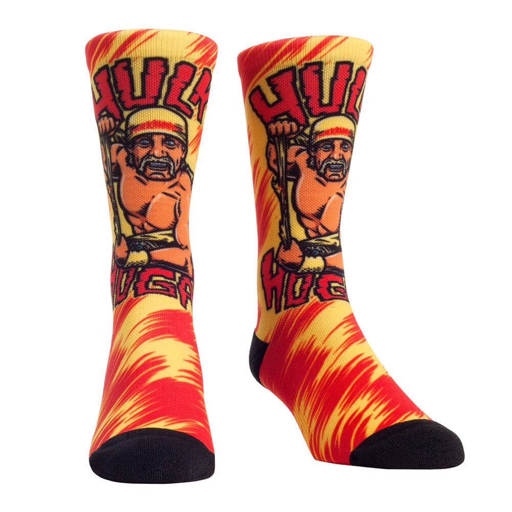 Hulk Hogan Signature Series Rock 'Em Socks