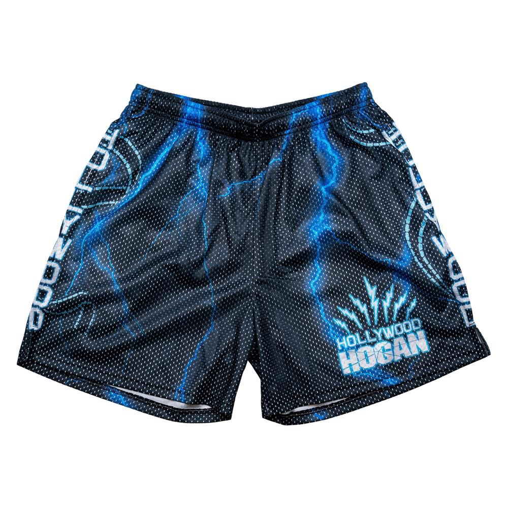 "Hulk Hogan ""Hollywood Hogan"" Chalk Line Shorts"