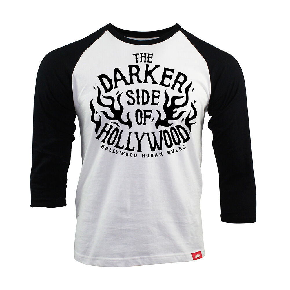 "Hulk Hogan ""The Darker Side of Hollywood"" Sportiqe Raglan Shirt"