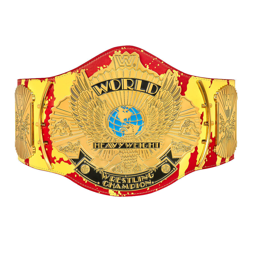 "Hulk Hogan ""Hulkamania"" Signature Series Championship Replica Title"
