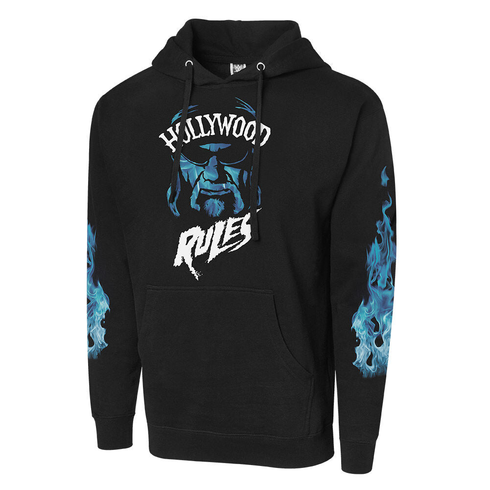 "Hulk Hogan ""Hollywood Rules"" Pullover Hoodie Sweatshirt"