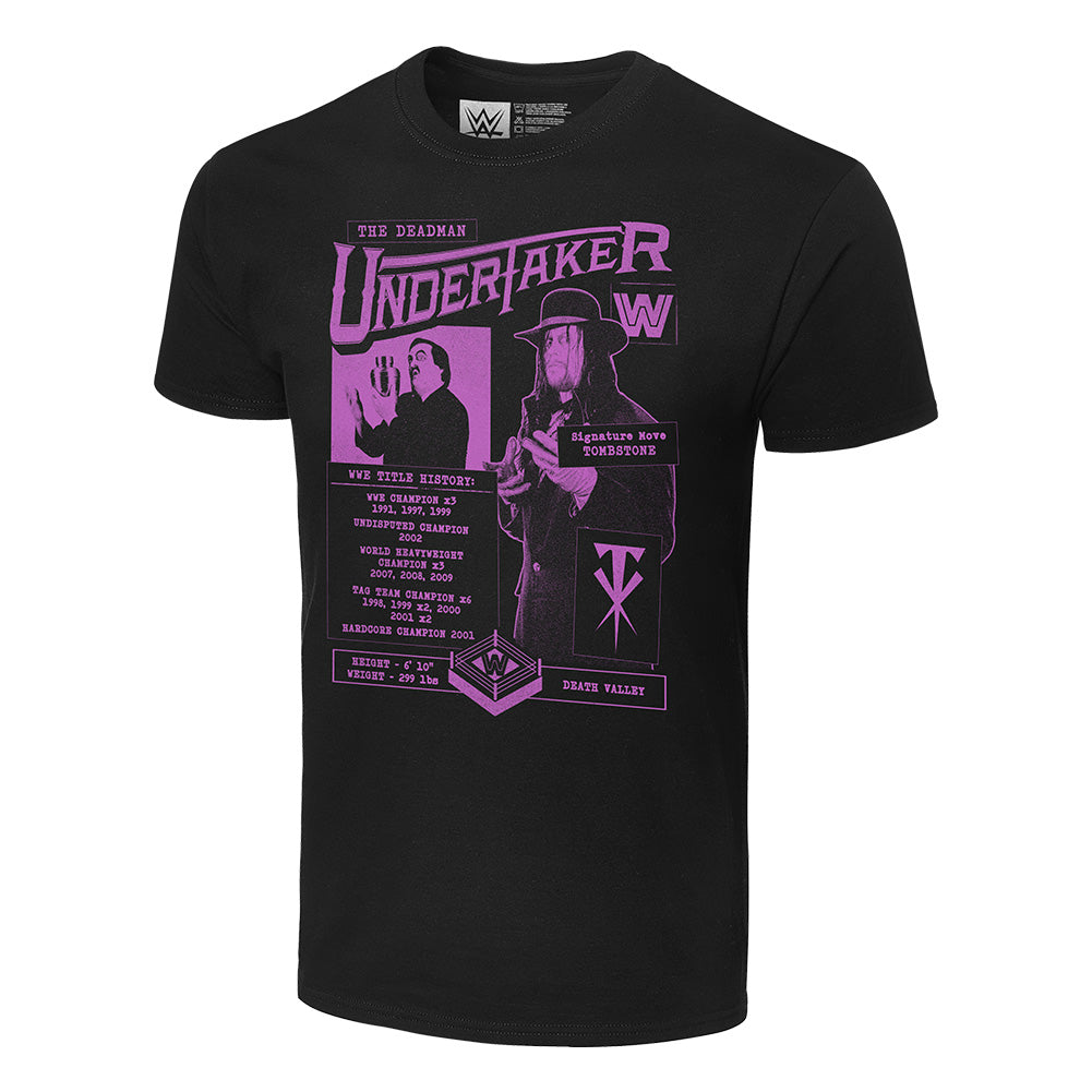 Undertaker Fanzine Graphic T-Shirt