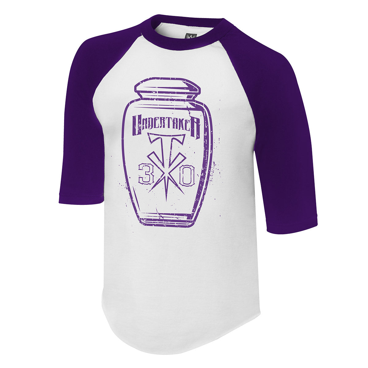 "Undertaker ""30 Years"" 3/4 Raglan Sleeve Shirt"