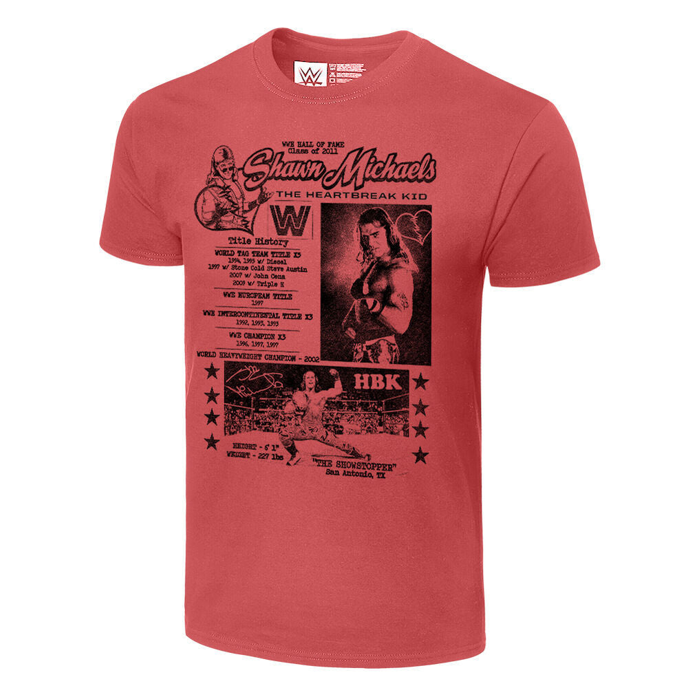 Shawn Michaels Fanzine Graphic T-Shirt