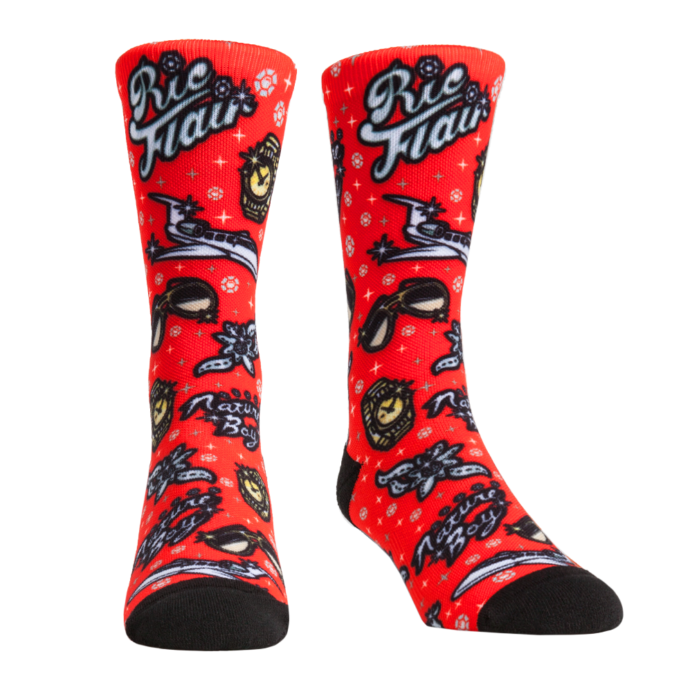 Ric Flair All Over Print Rock 'Em Socks