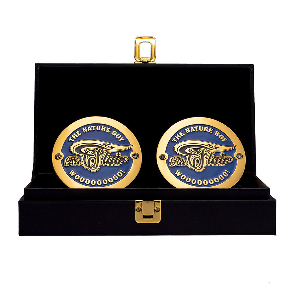Ric Flair Legends Championship Replica Side Plate Box Set 1