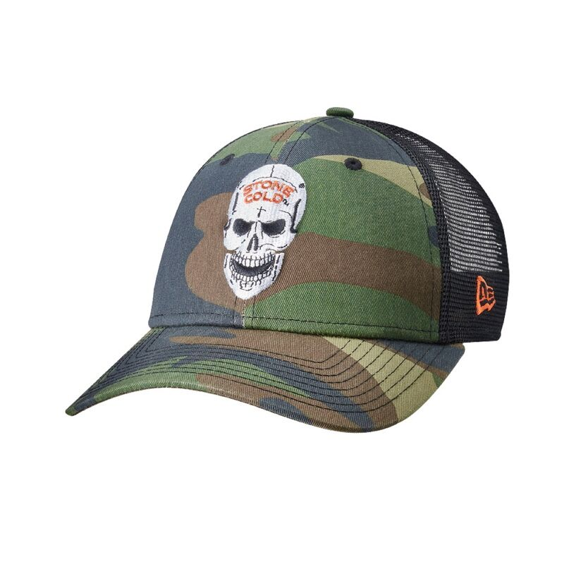 Stone Cold Steve Austin Camo 9Forty Trucker Hat