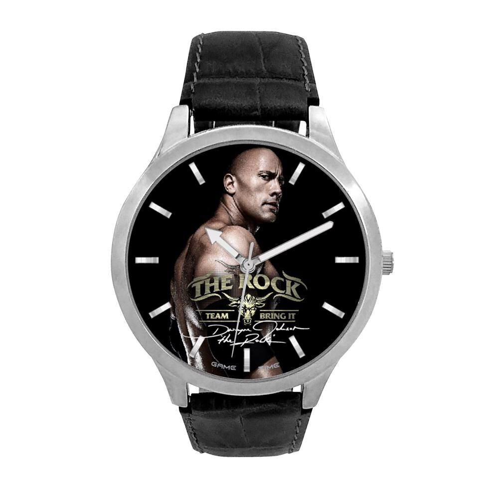 The Rock Game Time Watch