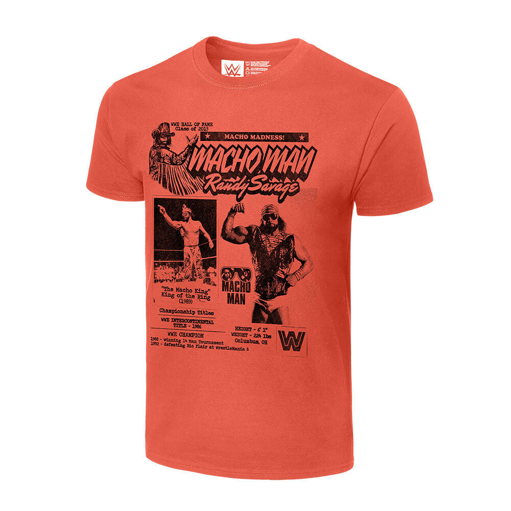 Macho Man Randy Savage Fanzine Graphic T-Shirt