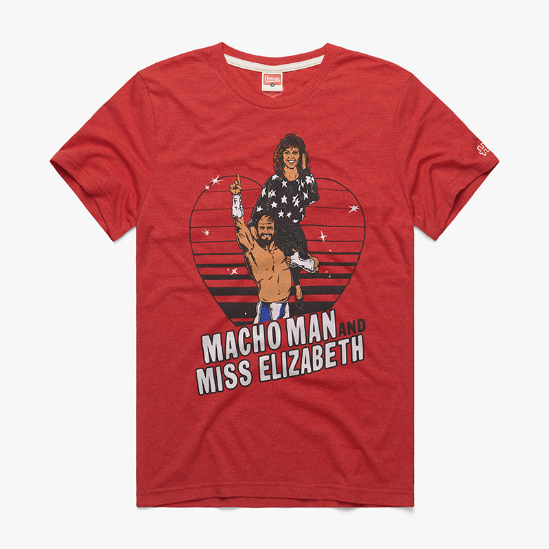 Macho Man & Ms. Elizabeth Homage T-Shirt