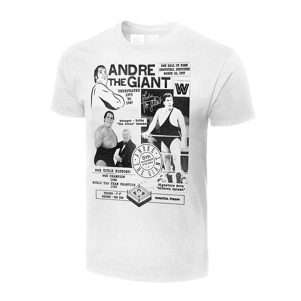 Andre The Giant Fanzine Graphic T-Shirt