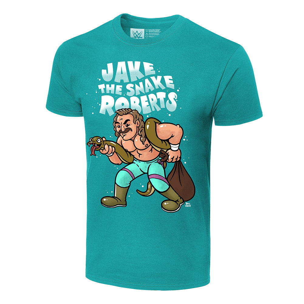 Jake The Snake Roberts x Bill Main Legends T-Shirt
