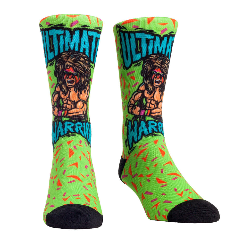 Ultimate Warrior Signature Series Rock 'Em Socks