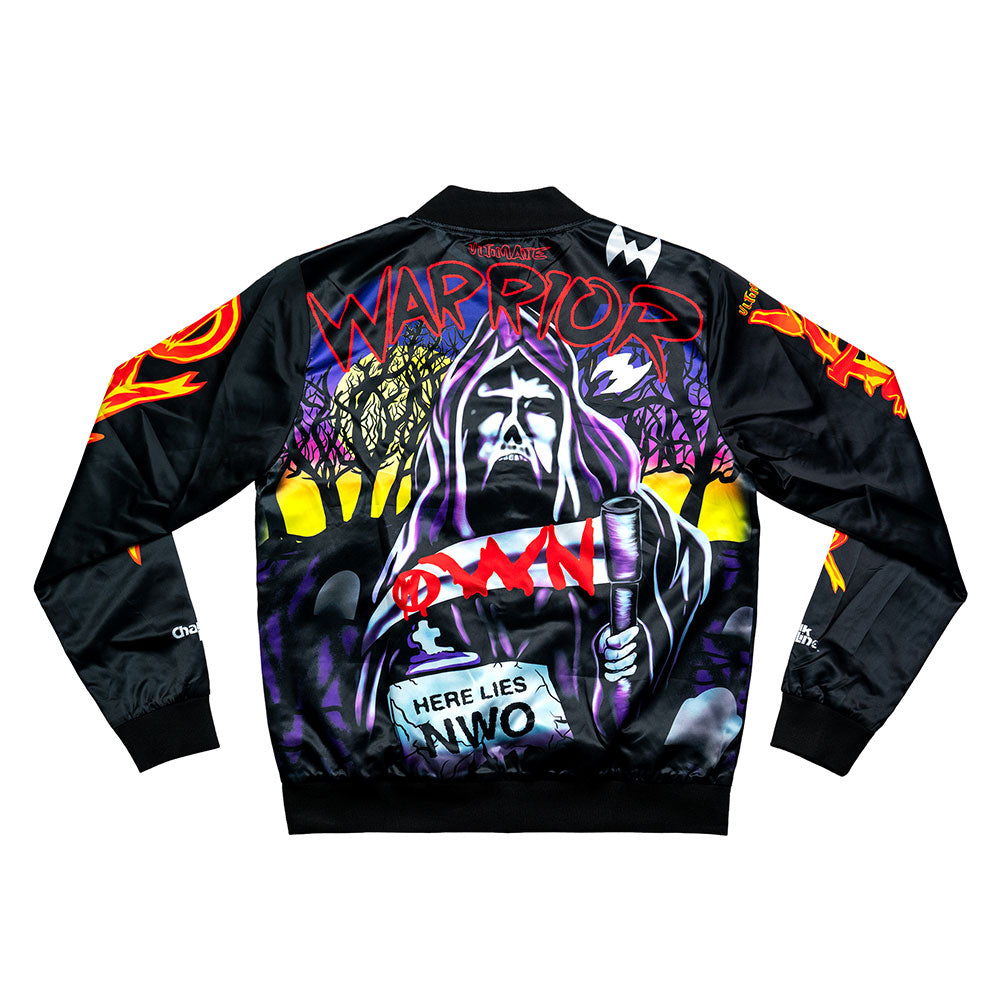 Ultimate Warrior Halloween Havoc Chalk Line Jacket