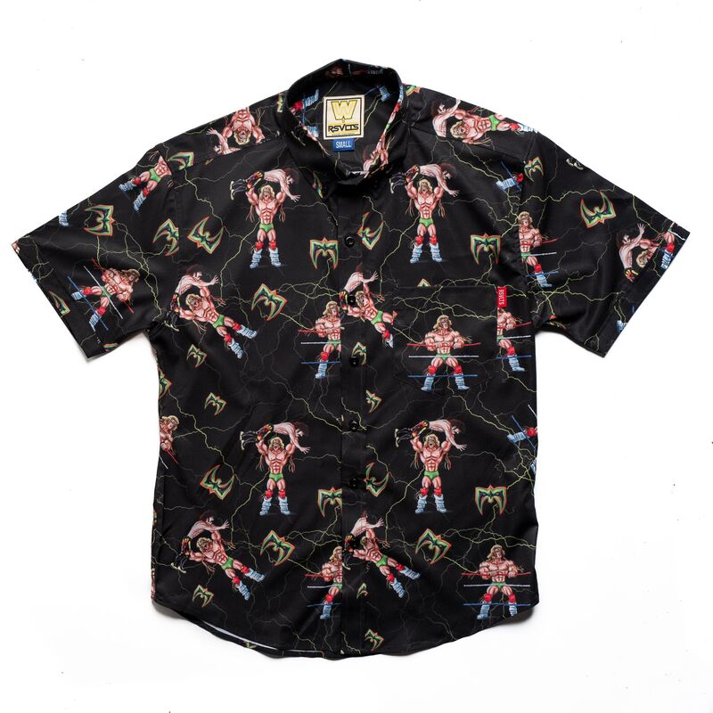 Ultimate Warrior RSVLTS Button Down Shirt