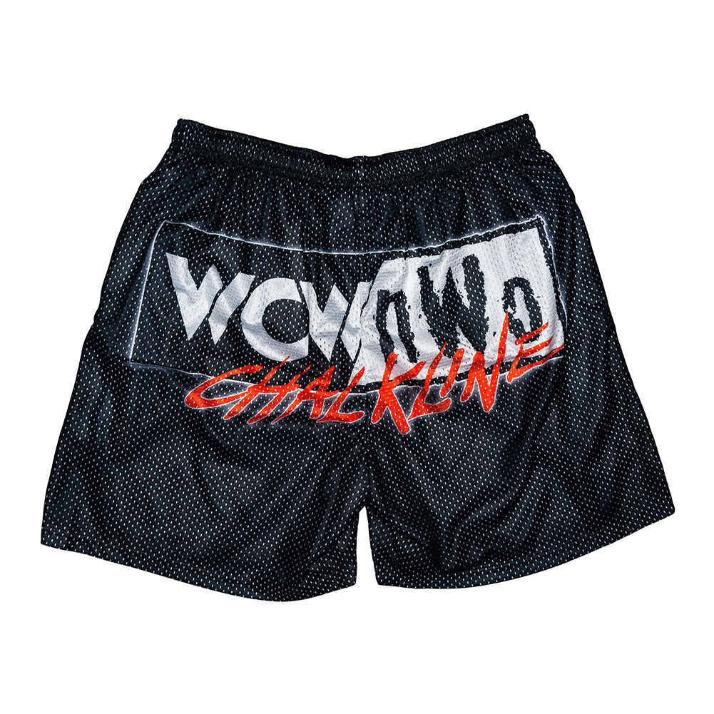 WCW/nWo Chalk Line Shorts