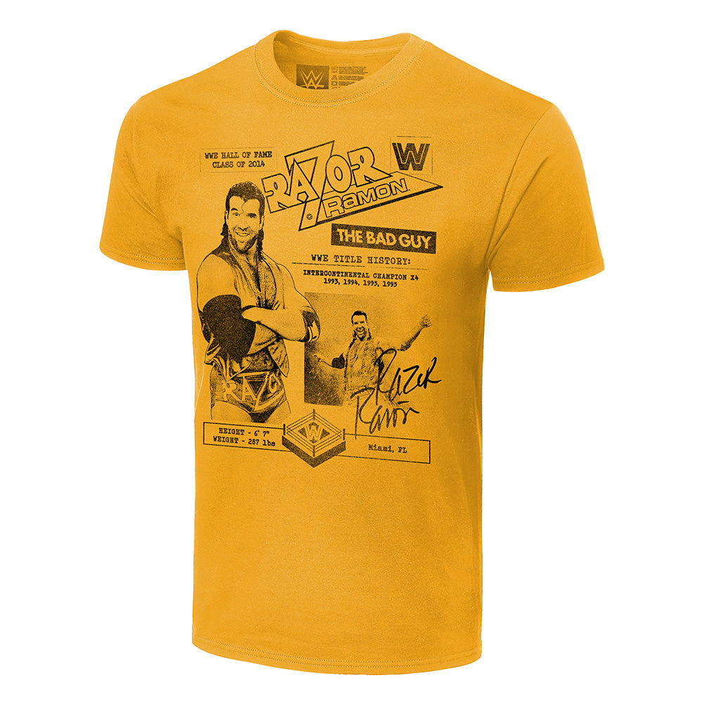 Razor Ramon Fanzine Graphic T-Shirt