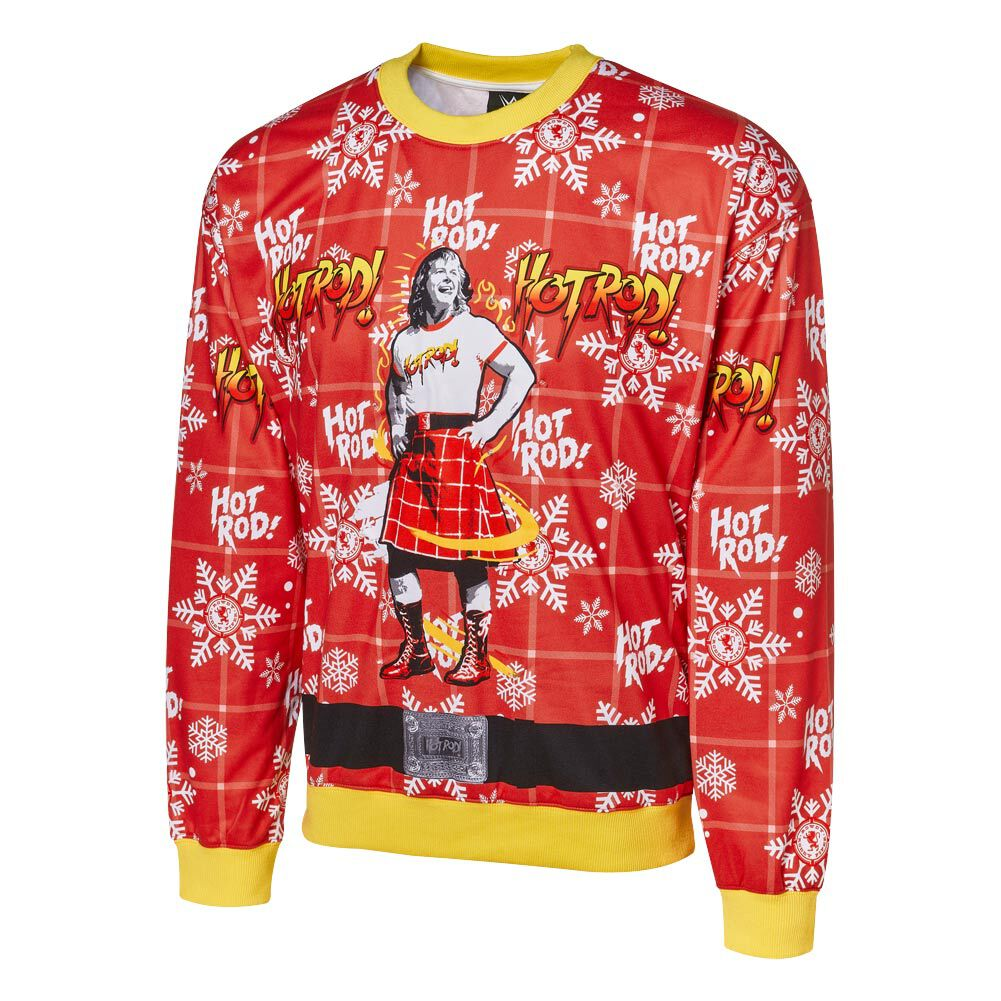 Roddy Piper Light-Up Ugly Holiday Sweatshirt
