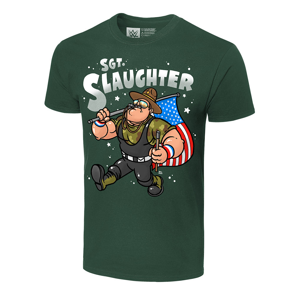Sgt. Slaughter x Bill Main Legends T-Shirt