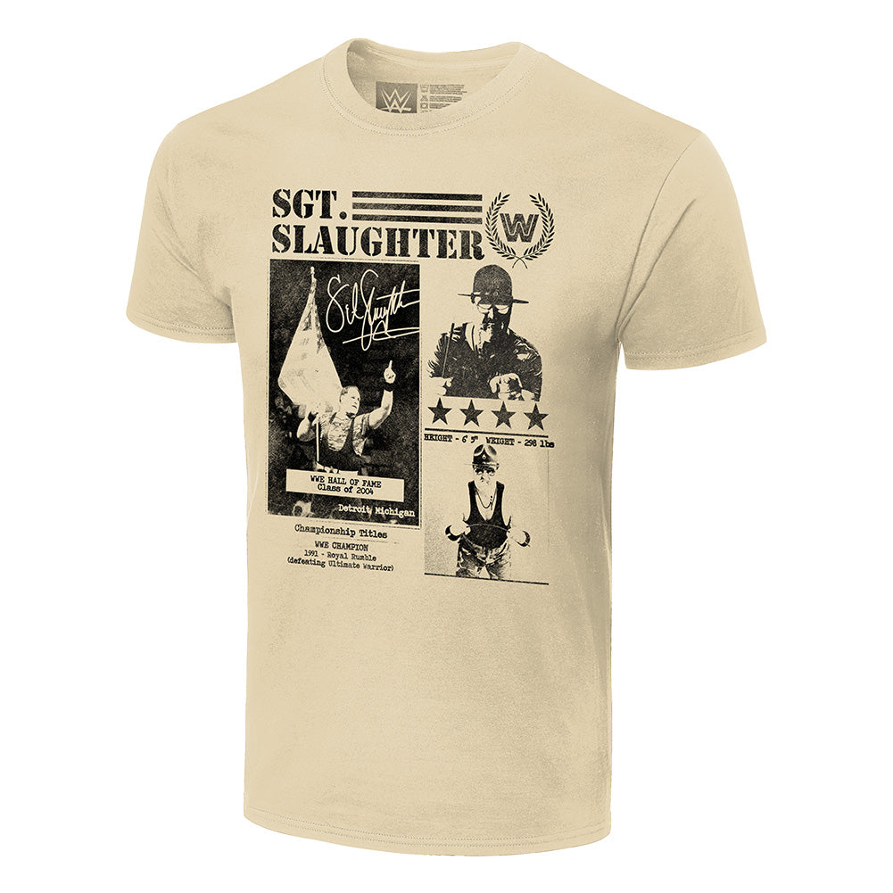 Sgt. Slaughter Fanzine Graphic T-Shirt