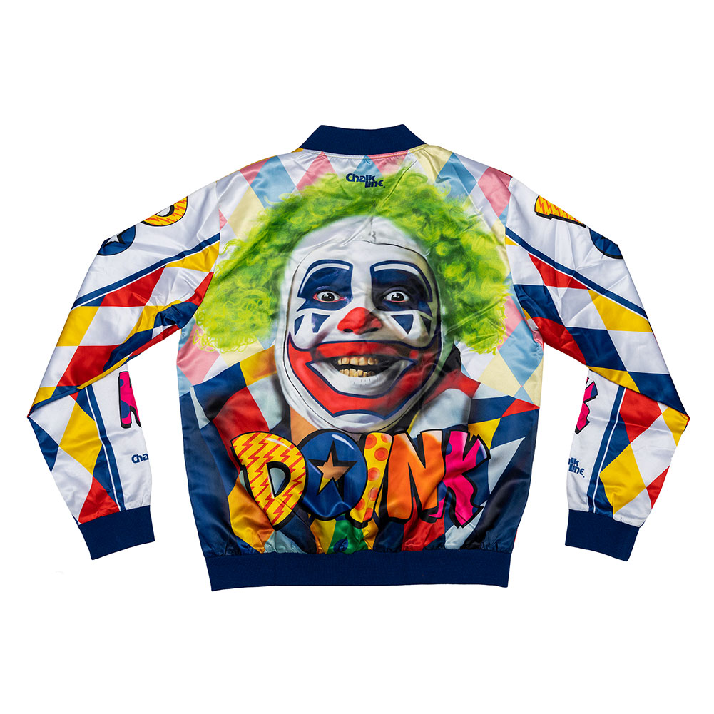 Doink The Clown Chalk Line Jacket