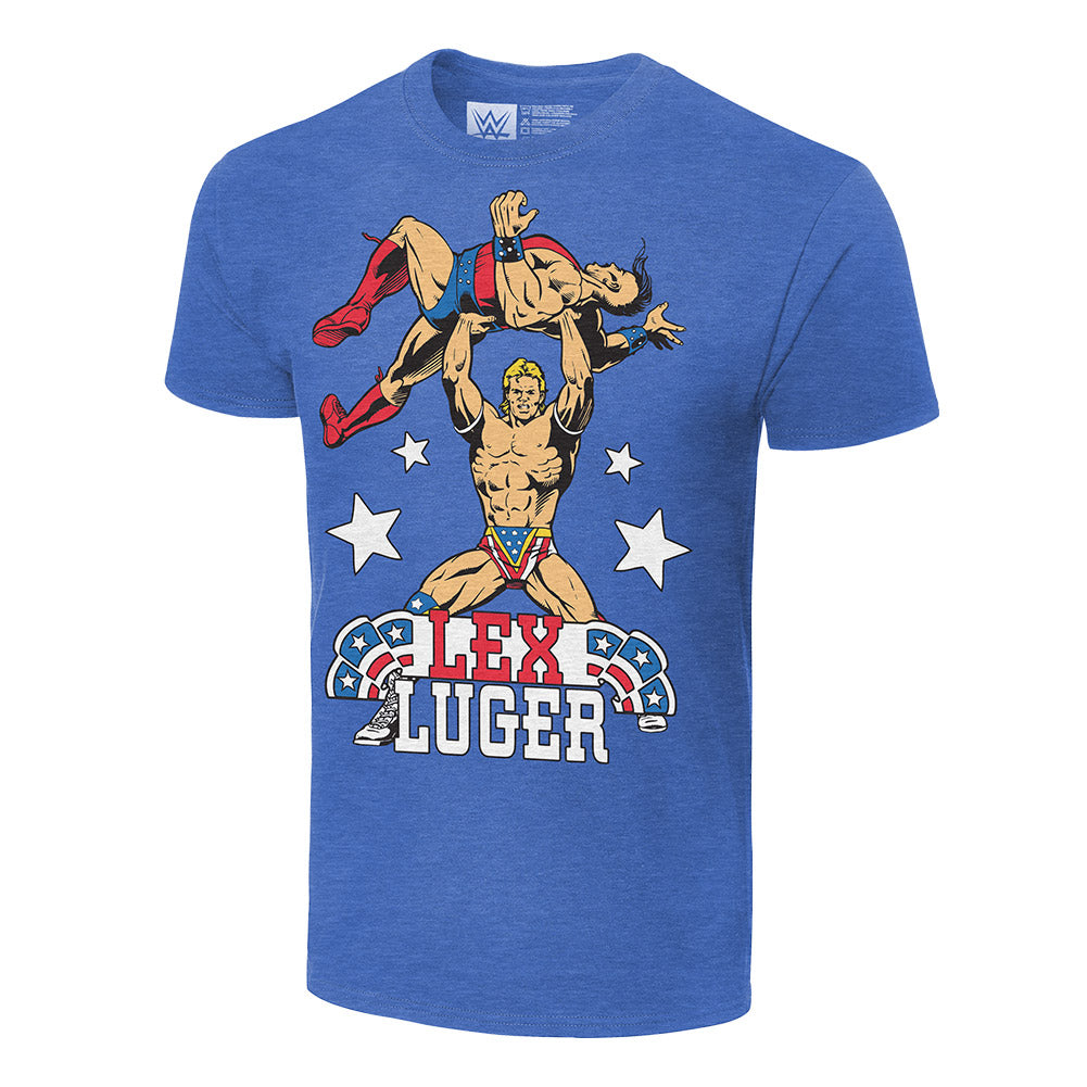 Lex Luger Illustrated T-Shirt