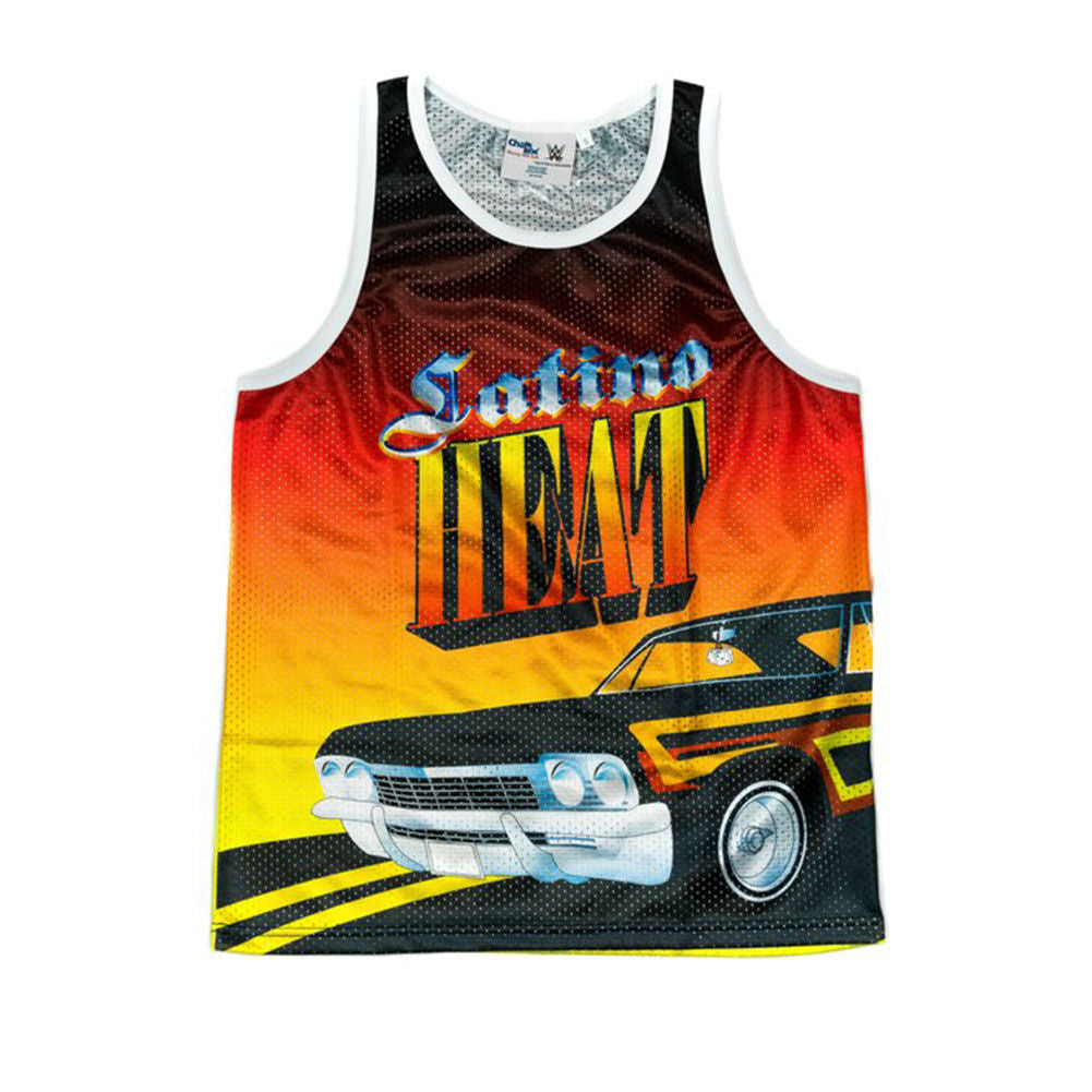 "Eddie Guerrero ""Low Rider"" Chalk Line Tank Top"