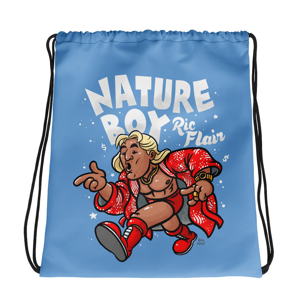 Ric Flair x Bill Main Drawstring Bag