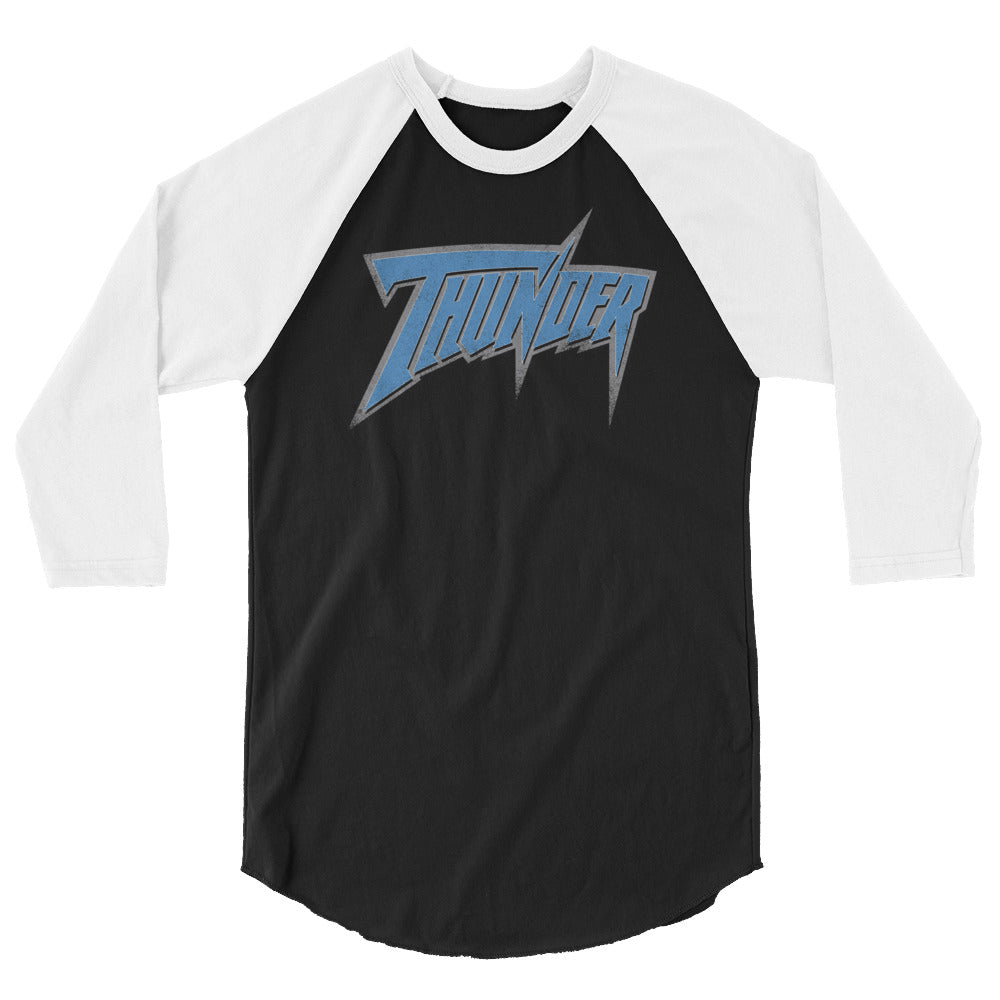 WCW Thunder Old School 3/4 Sleeve Raglan Shirt