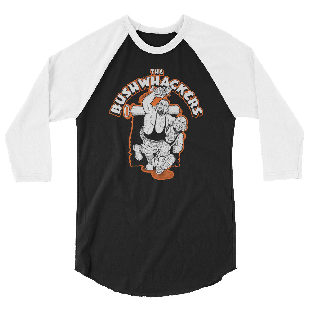"The Bushwhackers ""Illustrated"" 3/4 Sleeve Raglan Shirt"