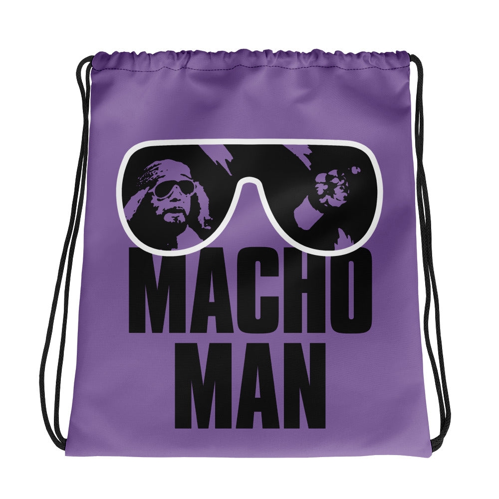 "Macho Man Randy Savage ""Sunglasses"" Drawstring Bag"