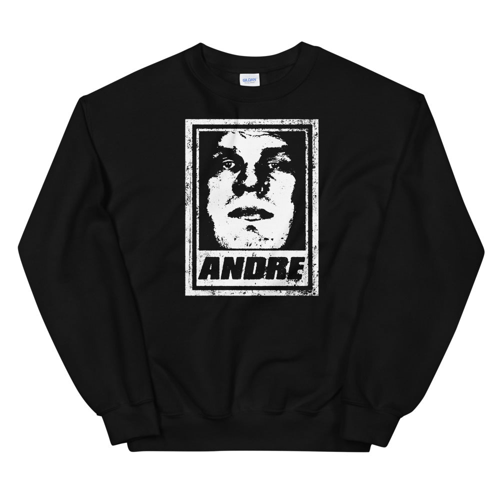 Andre The Giant Crewneck Pullover Sweatshirt