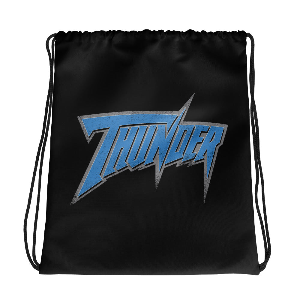 WCW Thunder Drawstring Bag