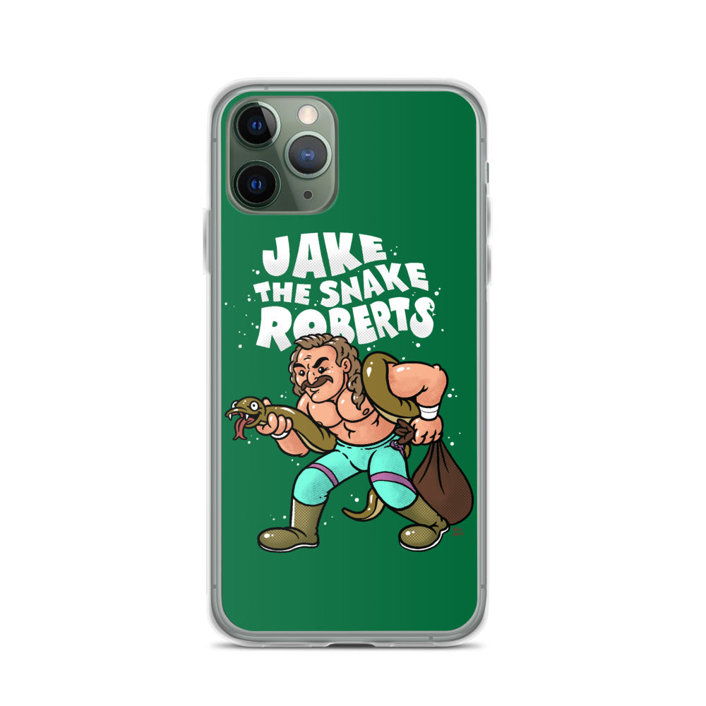 Jake The Snake Roberts x Bill Main iPhone Case
