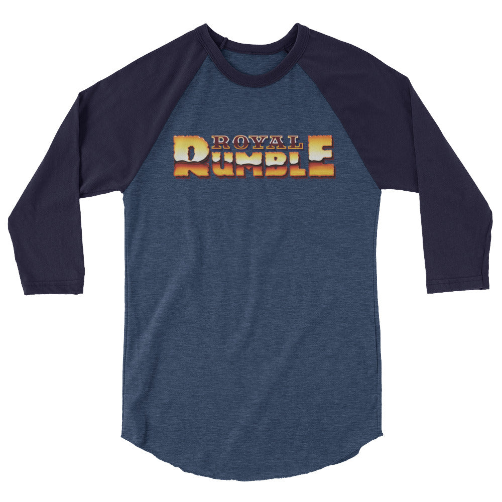 Royal Rumble '89 3/4 Sleeve Raglan Shirt