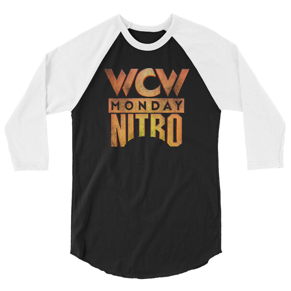 WCW Monday Nitro 3/4 Sleeve Raglan Shirt