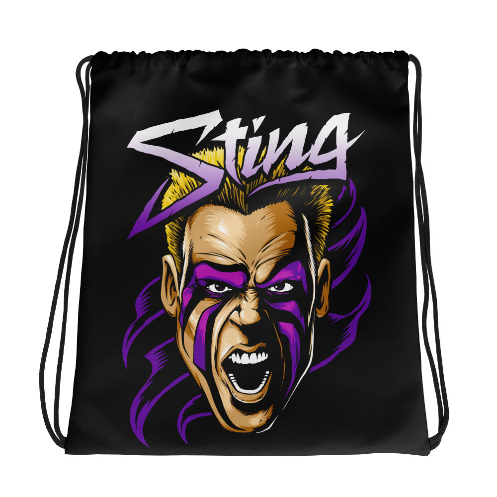 "Sting ""The Surfer"" Drawstring Bag"